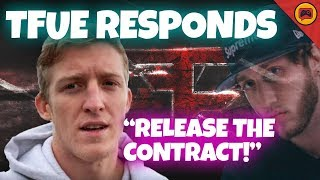 Tfue Responds to FaZe, Contract Leaked, Was FaZe Taking Millions?