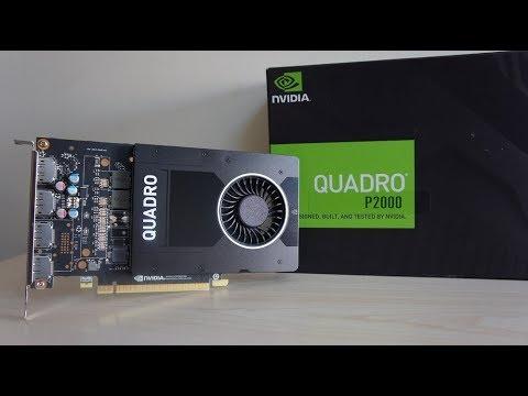 NVIDIA Quadro P2000 & AMD Ryzen 1700X Benchmark