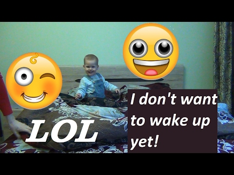 Mornings with a crazy toddler