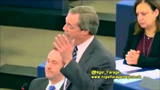 Nigel Farage: EU, United States of Europe Ruled By Big Banks, Big Bureaucrats