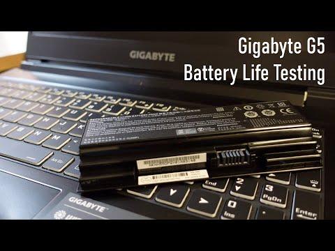 Gigabyte G5 10500H / 3060 Battery Life Testing