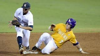 LSU Baseball Highlights vs Rice