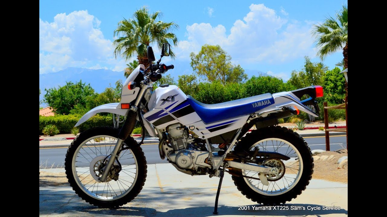 2001 Yamaha Xt225 For Sale  Samscycle Net