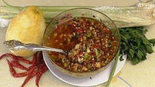 ВАЗ ЖАН, нереально вкусная восточная закуска из жгучего, острого  перца Чили
