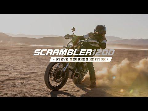 Scrambler 1200 Steve McQueen Edition