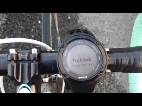 [Running Solidaire] Suunto Ambit - Fonction trackback