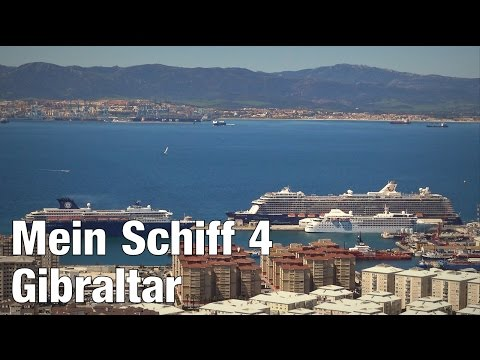 Mit Mein Schiff 4 in Gibraltar | Straße von Gibraltar | 09.04.2016