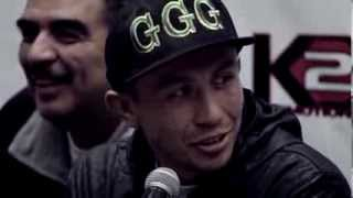 Gennady GGG Golovkin vs. Curtis Stevens, Press Conference, October 31st 2013, New York City, USA