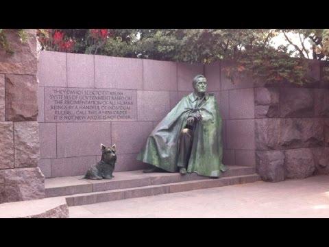 Franklin Delano Roosevelt Memorial In Washington DC