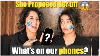 What's on our phones?- *TWIN's Secrets Revealed* 😱🙈 | CHINKI MINKI