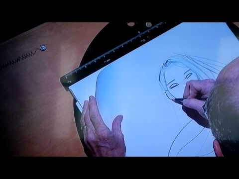 Glen Keane talks about Ariel, Pocahontas and the Beast CTNX 2012