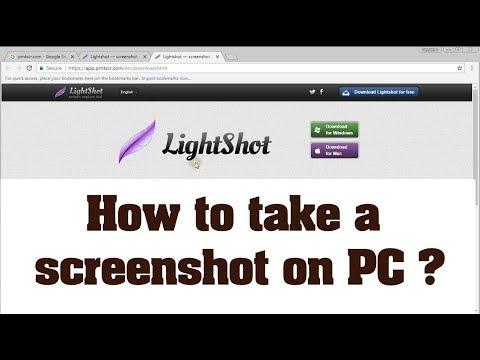 How to take screenshot on pc windows or mac lightshot youtube how to take screenshot on pc windows or mac lightshot ccuart Choice Image