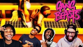 BERLEEZY WHY BRUU? | Poiised And The BHoys w/ Rico, PG & Berleezy #1 (GANG BEASTS)