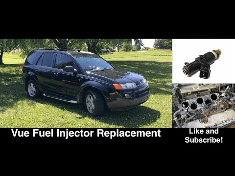 Saturn Vue Fuel Injector Replacement / Removal 3.5