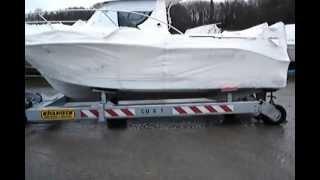 Mecanorem: Hydraulic Boat Trailers & Cradles / Chariots Hydrauliques De Manutention Portuaire