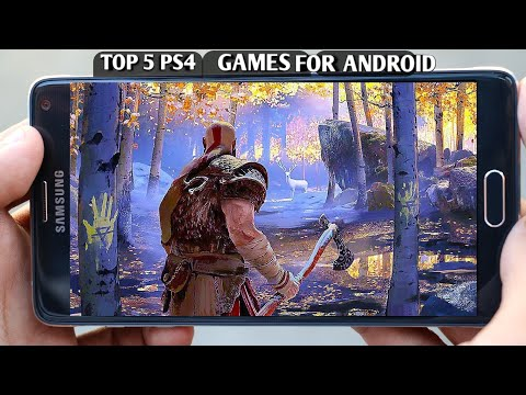 TOP 5 PS4 GAMES FOR ANDROID || DOWNLOAD FOR FREE