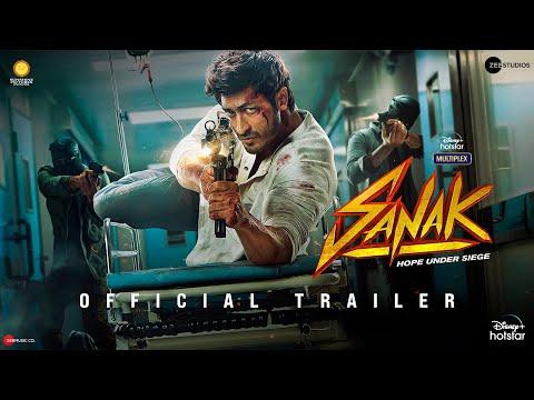 Sanak | Official Trailer | Vidyut Jammwal | Rukmini Maitra | Chandan Sanyal | Neha Dhupia | 15 Oct