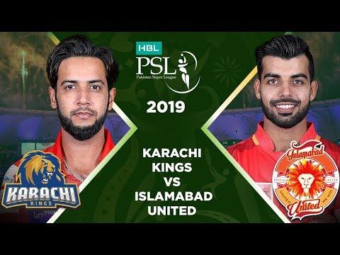 Match 18: Full Match Highlights Karachi Kings vs Islamabad United | HBL PSL 4 | HBL PSL 2019