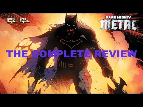 DC Dark Knights Metal Review