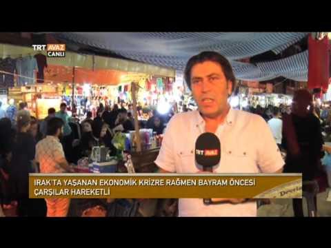 Erbil'de Bayram Alışverişi Gece Yapılıyor - Devrialem - TRT Avaz