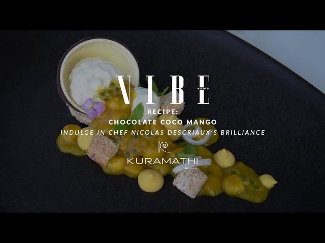 Vibe Magazine Issue 15 - Recipe - Chocloate Mango Indulge by Chef Nicolas Descriauc