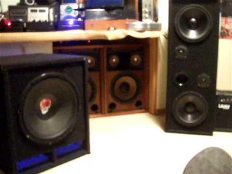 Il mio impianto in casa autocostruito doovi - Impianto audio casa incasso ...