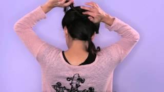 Bouffant Braid Tutorial Thumbnail