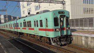 西鉄5000形(6両) 5116F+5115F G171列車 急行 花畑行 西鉄久留米到着