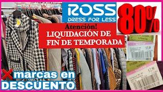 ROSS* enero 2020 gran LIQUIDACION en ropa de MARCA/compras 2020 de remate en ross