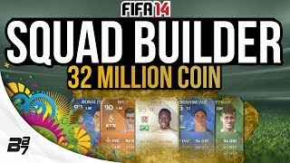 THE BEST TEAM EVER! 32 MILLION COINS w/ PELE | FIFA 14 Ultimate Team