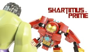 Lego Hulkbuster Avengers Age Of Ultron Marvel Super Heroes Movie Building Toy Review