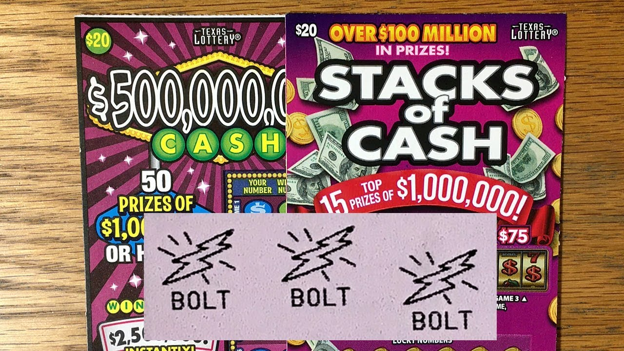 WINS!! $20 Stacks of Cash + $20 $500,000,000 Cash! TEXAS LOTTERY Scratch Off Tickets - YouTube