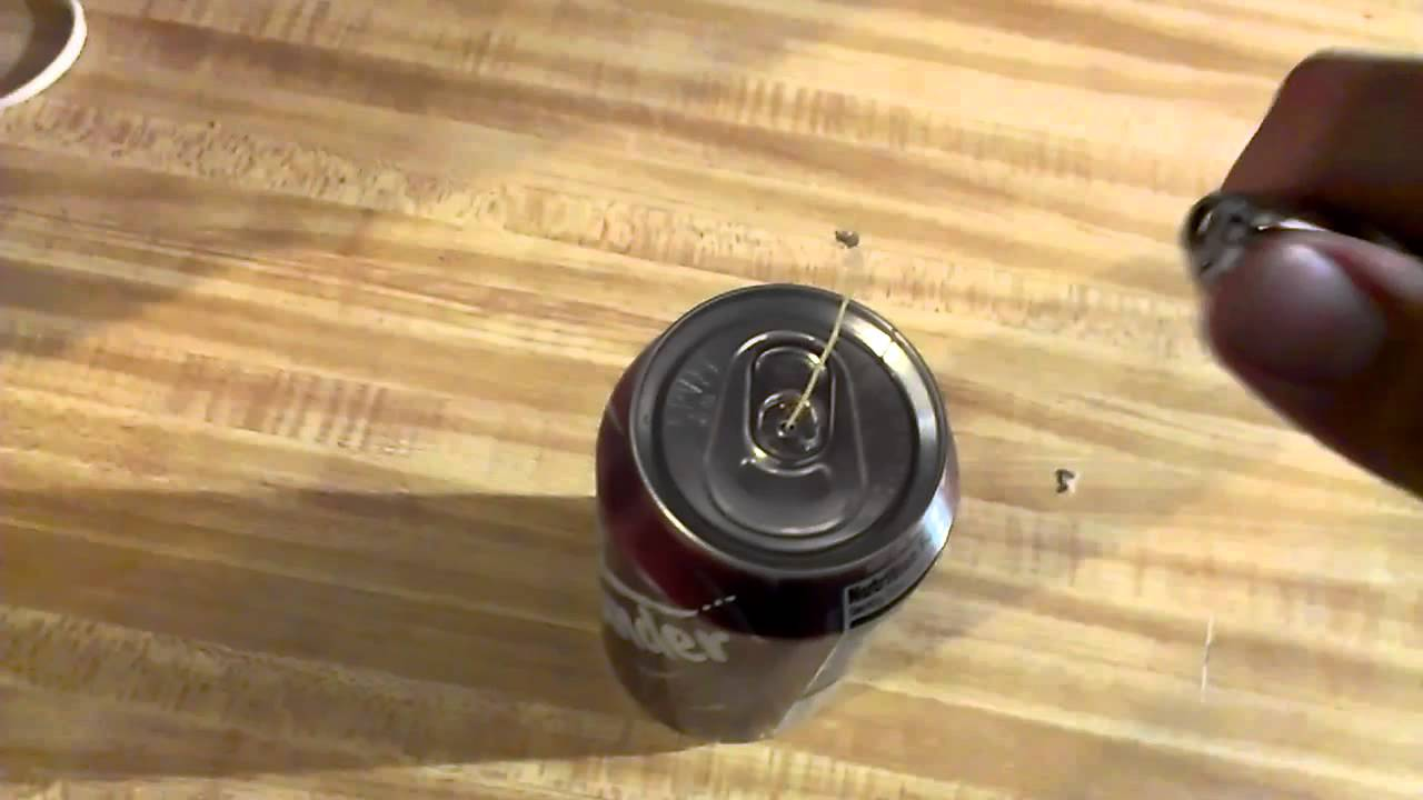 how to make a homemade bomb with a dr pepper can youtube