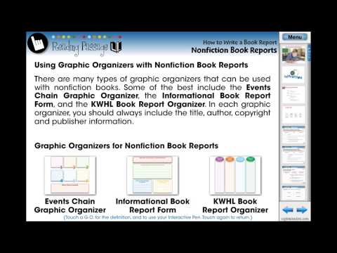CC7105 How to Write a Book Report: Nonfiction Book Reports Chapter Mini