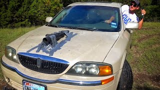 I Duct Taped a Cannon to The Hood!