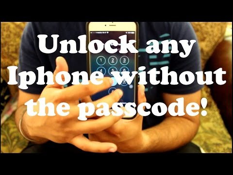 **STILL WORKS** Unlock ANY iPhone Without the Passcode
