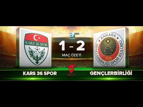Kars 36 Spor 1-2 Gençlerbirliği   ZTK 5.tur   a spor   maç özeti   28.11.2017