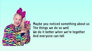 Jojo Siwa- Every Girls A Super Girl- Lyrics Video