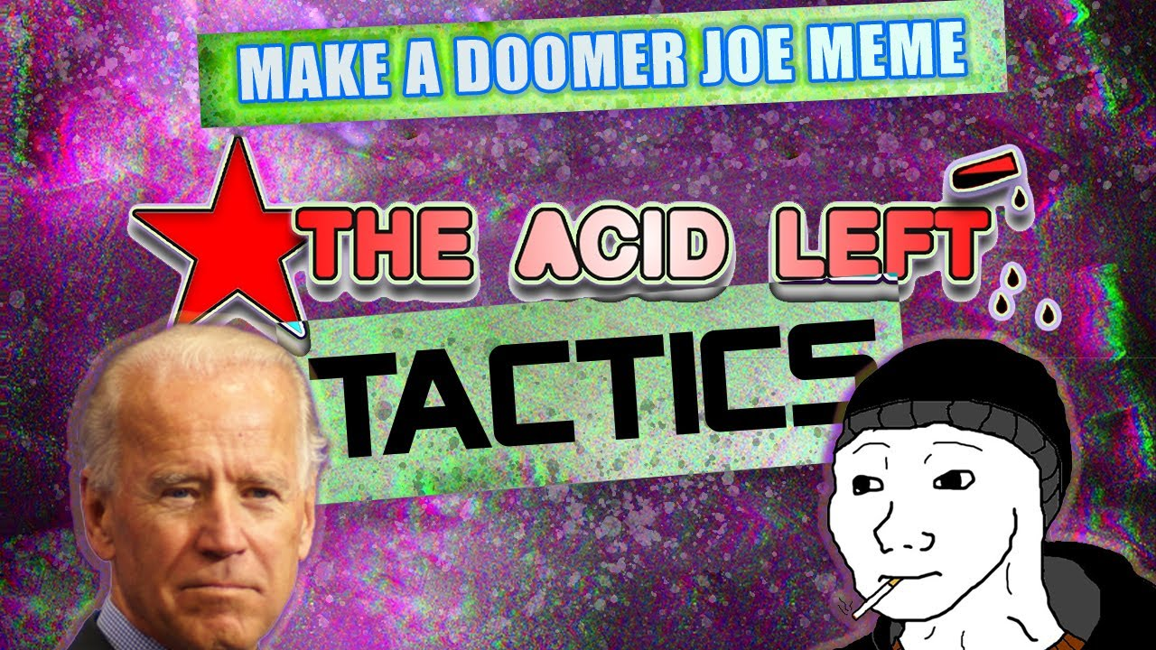 Doomer Meme Guy Meets Biden: An Acid Left Tactics Photoshop Tutorial