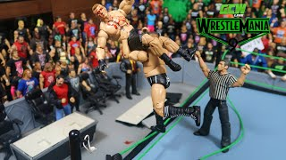 GCW Wrestlemania 9 Final Part! WWE Action Figure Match