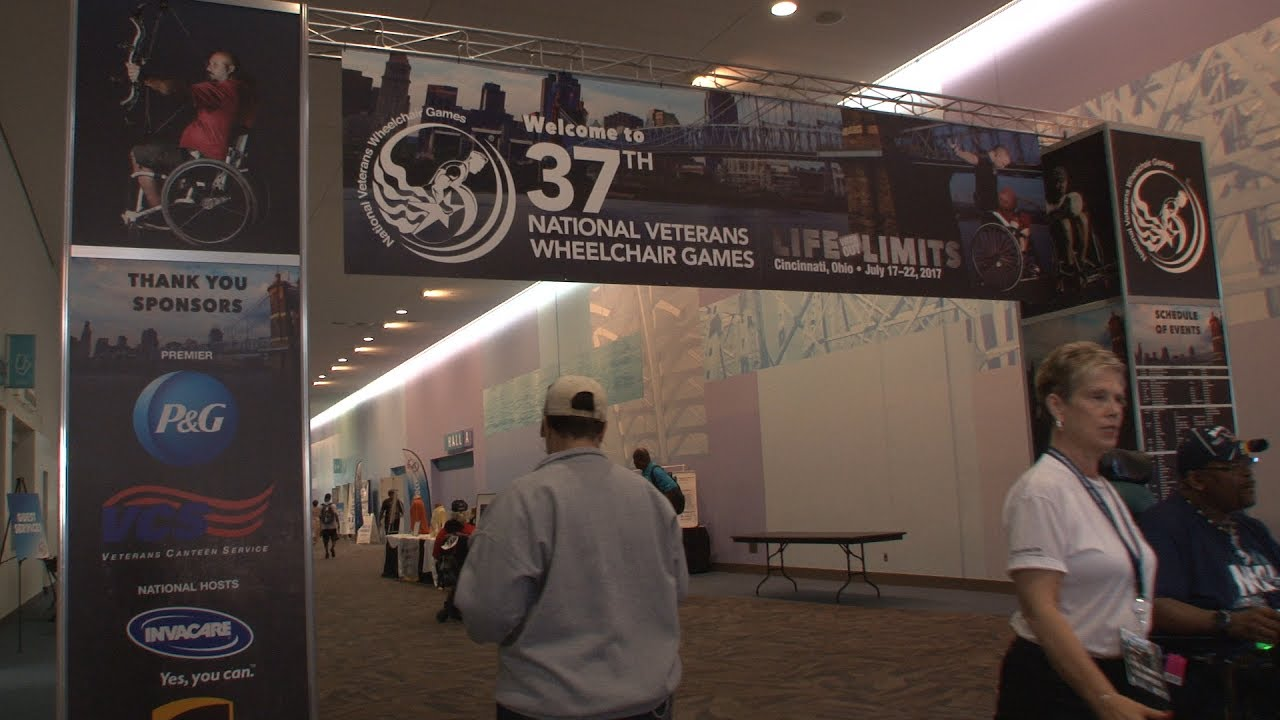 national veterans wheelchair games 2017 youtube