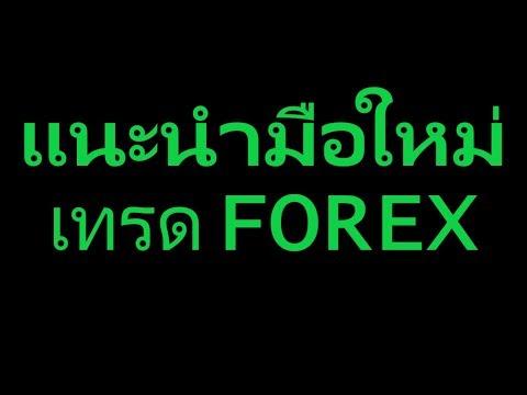 แนะนำมือใหม่เทรด FOREX ;D