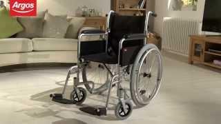 Lightweight Aluminium Self Propelled Wheelchair Argos Review