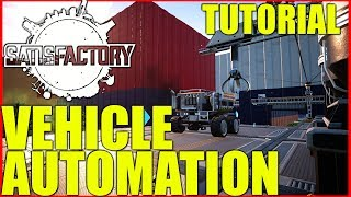 Satisfactory Tutorial | Automated Vehicles