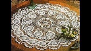 Fiskos Masası Dantel Modelleri & Crochet