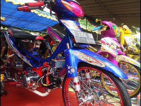 Modif Honda Supra Fit 110 Thailook Style Kontes Terbaru