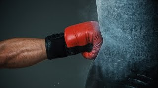 Как сделать боксёрскую грушу в домашних условиях