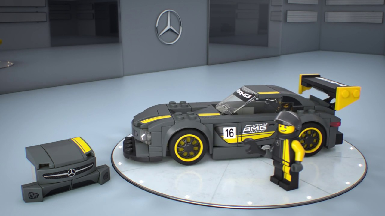 lego 75877 mercedes amg gt3 3d product review youtube. Black Bedroom Furniture Sets. Home Design Ideas