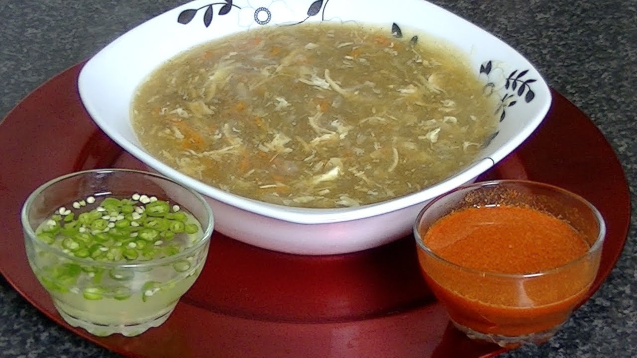 Hot Sour Soup N S R So Ha Ta E Da Sara Sa Pa Cook With Faiza Youtube