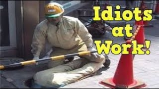 Bad day at work - Total idiots at work - Workers Fails Compilation